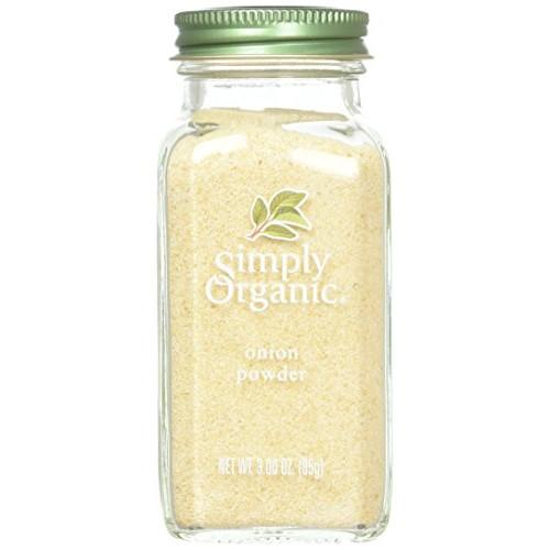 Simply Organic Onion, White Powder ORGANIC 3.00 oz. Bottle a -...