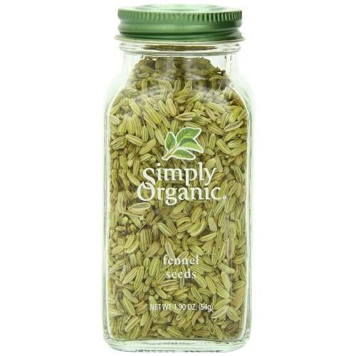 Simply Organic Fennel Seed, 1.9 oz