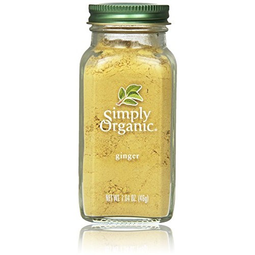 Simply Organic Ginger Root Ground Certified Organic, 1.64-Ounce ...
