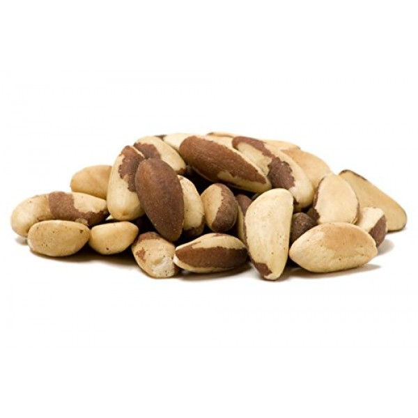 Sincerely Nuts Brazil Nuts Roasted and Salted 1 Lb. Bag   Deli...