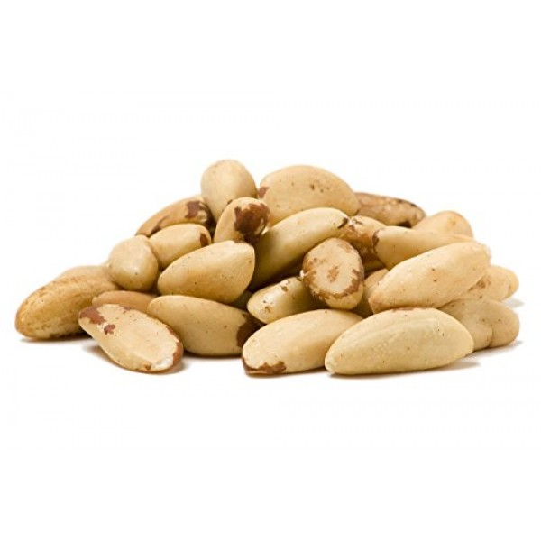 Sincerely Nuts Brazil Nuts Roasted and Unsalted - One lbs. Bag |...