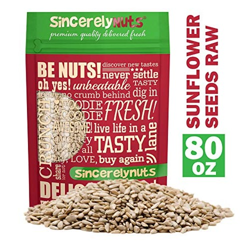 Sincerely Nuts Sunflower Seed Kernels Raw No Shell 5lb bag |...