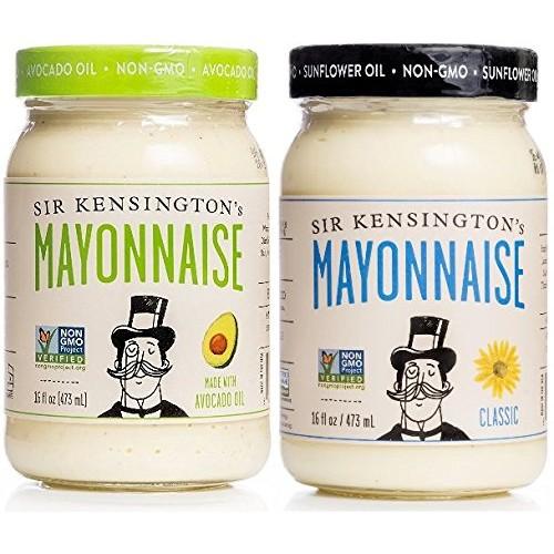 Sir Kensingtons Classic & Avocado Oil Mayonnaise 16oz Variety ...