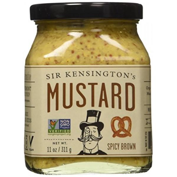 Sir Kensingtons Mustard - Spicy Brown - 11 OZ