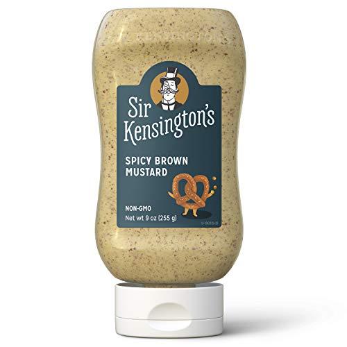 Sir Kensingtons Mustard, Spicy Brown, Gluten Free, Certified Ve...