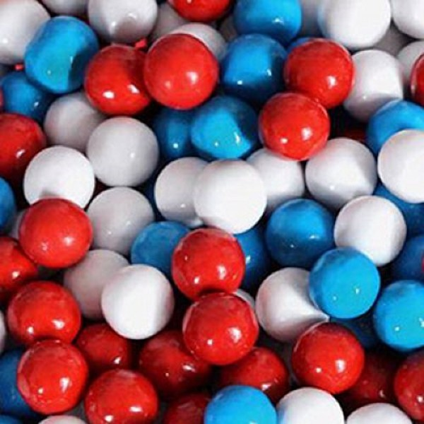 American Spirit Patriotic Sixlets Mini Milk Chocolate Balls 5LB Bag
