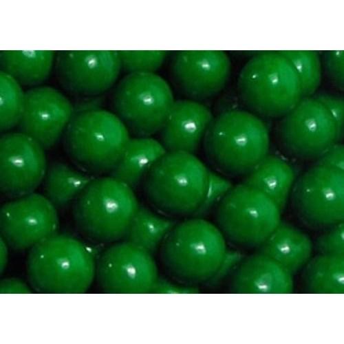 Dark Green Sixlets Candy 1LB Bag