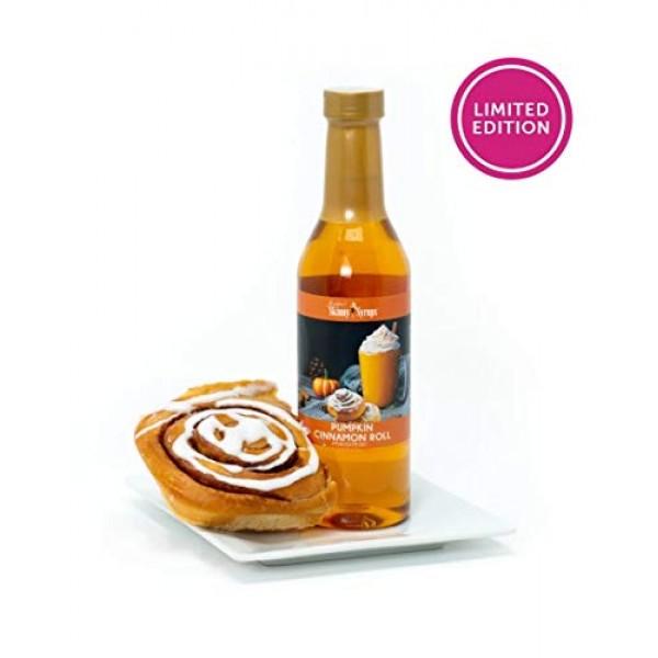 Jordans Skinny Syrups Fall Dessert Trio: Pumpkin Cinnamon Roll,...
