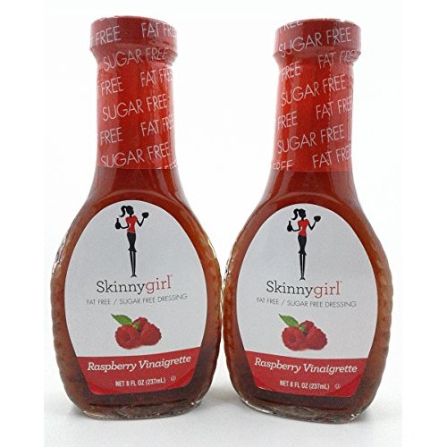 Skinny Girl Raspberry Vinaigrette Dressing, 8 fl oz 2 count