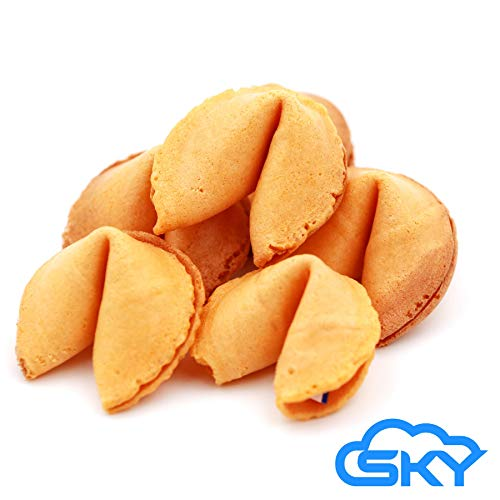 Sky Premium and Fresh Fortune Cookies Individually Wrapped, Bulk...