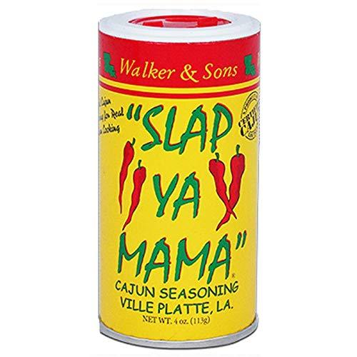 Slap Ya Mama Cajun Seasoning Blend, Original, 4 Ounce