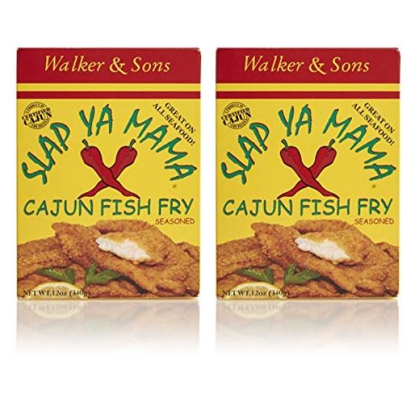 Slap Ya Mama Louisiana Style Cajun Fish Fry, MSG-Free and Kosher...