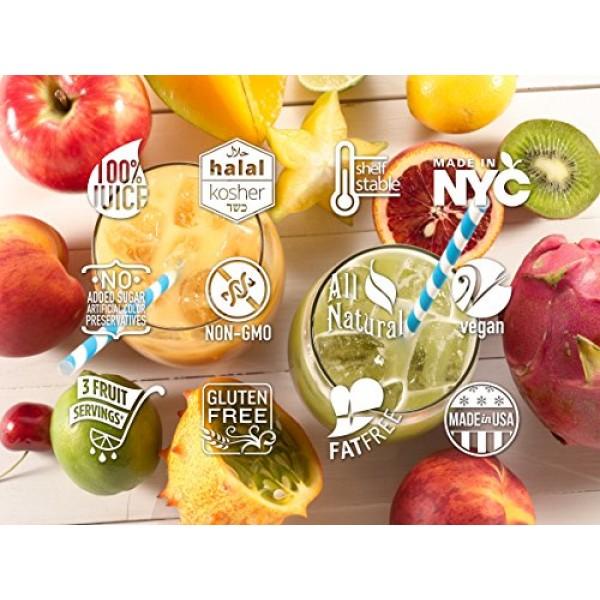 Smartfruit Aloha Pineapple + Prebiotic, 100% Real Fruit Purée S...