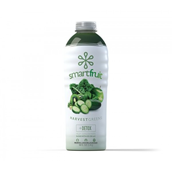 Smartfruit Harvest Greens + Detox, 100% Real Fruit Purée Smooth...