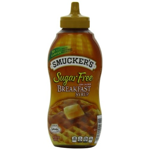 Smuckers Sugar Free Breakfast Syrup, 14.5 Ounce Pack of 12