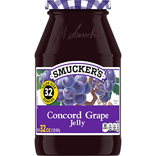 Smuckers Concord Grape Jelly, 32 Ounce