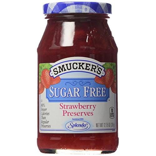 Smuckers Preserves, Sugar Free Strawberry, 12.75 oz