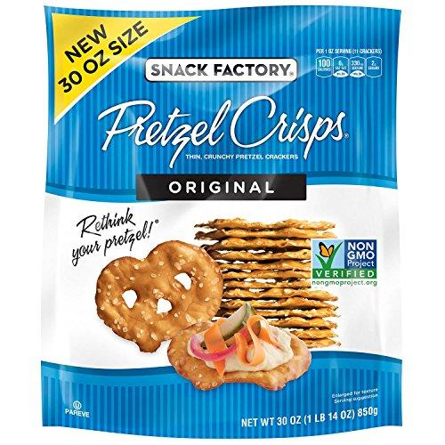 Snack Factory Original Pretzel Crisp, 30 Ounce