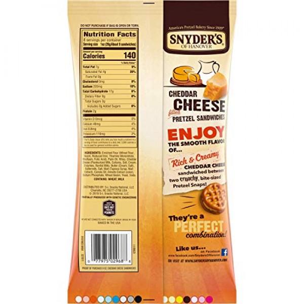 Snyders of Hanover Gluten Free Pretzel Sticks, 100 Calorie Indi...