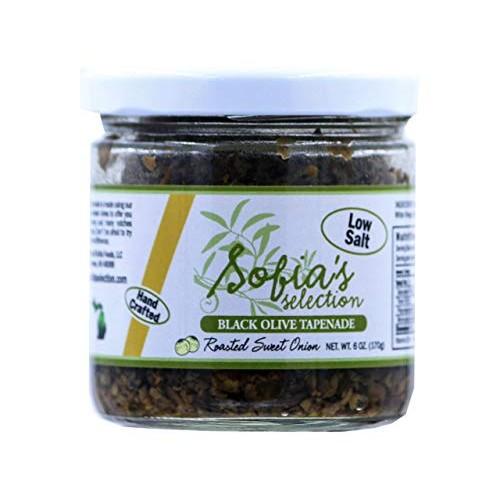 Sofias Selection Black Olive Tapenade with Roasted Sweet Onion,...
