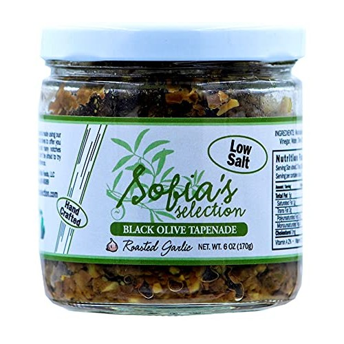 Sofias Selection, Tapenade Roasted Garlic, 6 Ounce