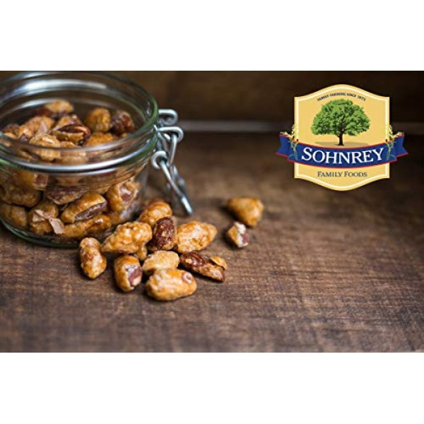 Butter Toffee Almonds Fresh Gourmet Sweet and Salty Crunch Resea...