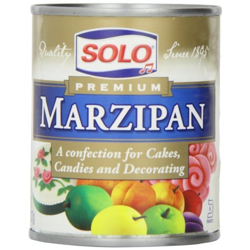 Solo Marzipan, 8-Ounce Unit Pack of 6