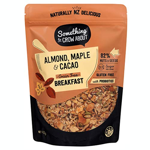 Almond, Pure Maple Cacao | Low Carb Paleo Muesli Boosted with Da...