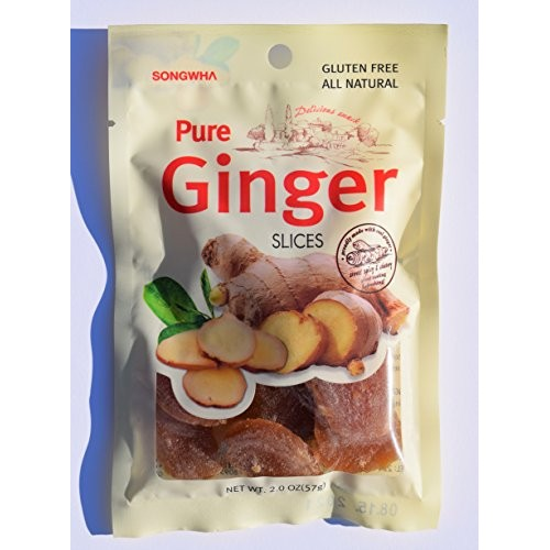 Pure Ginger Slices Pack of 3 Made in Korea