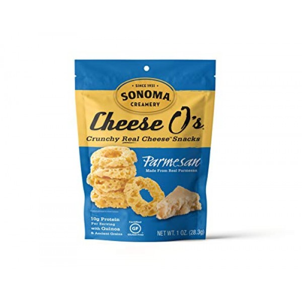 Sonoma Creamery Cheese Os, 2 Flavor Variety Pack, Cheddar & Par...