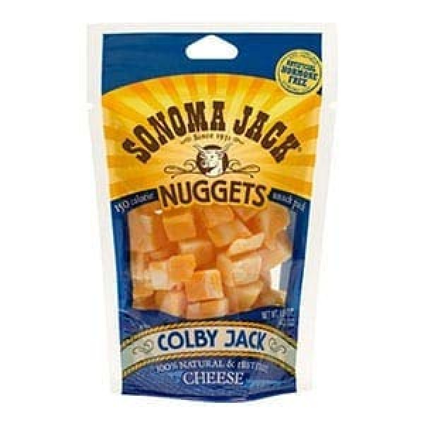 Sonoma Jack Snack Pack Cheese Nuggets 1.5 ounce Pack of 12 Co...