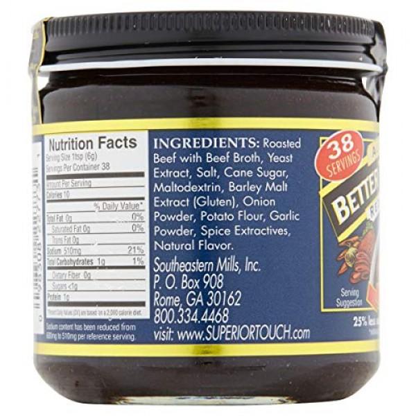 All Natural Reduce Sodium Beef Base 8oz