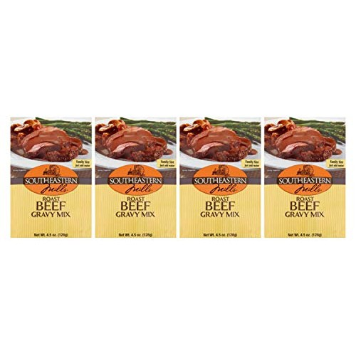 Southeastern Mills Roast Beef Gravy Mix 4.5 oz Pack of 4 in a ...