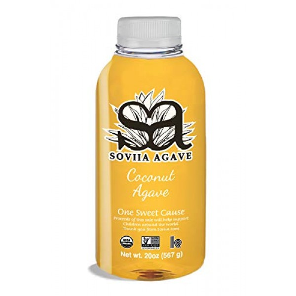 Soviia 20 oz Coconut Agave Syrup
