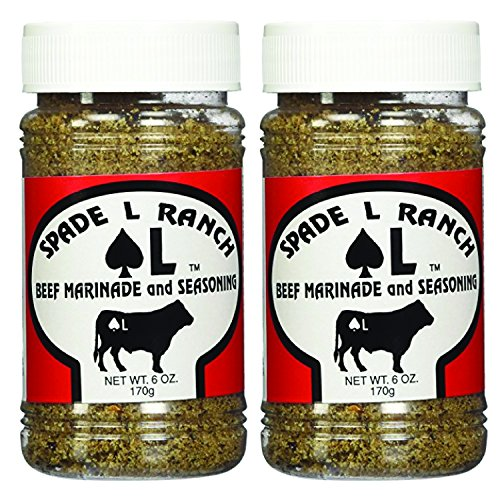 Spade L Ranch Beef Marinade and Seasoning 6 Oz. Pack of 2