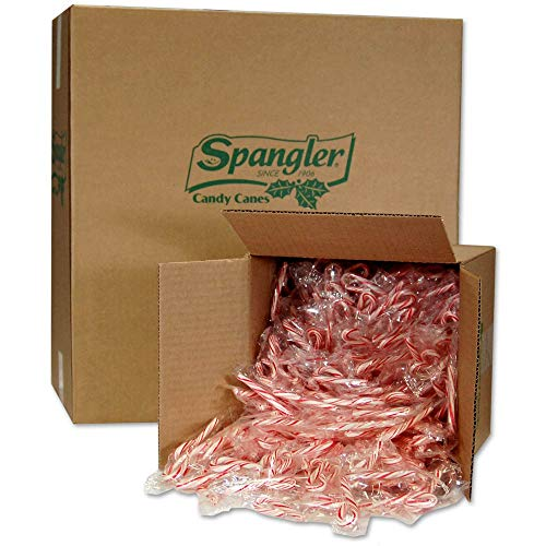Spangler Peppermint Mini Canes 4-500 count boxes