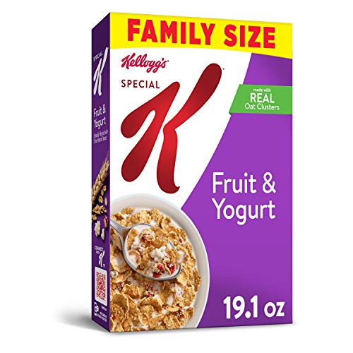 Kelloggs Special K, Breakfast Cereal, Fruit and Yogurt, Value S...