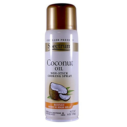 Spectrum Culinary Coconut Spray Oil, 6-ounces Pack of 3