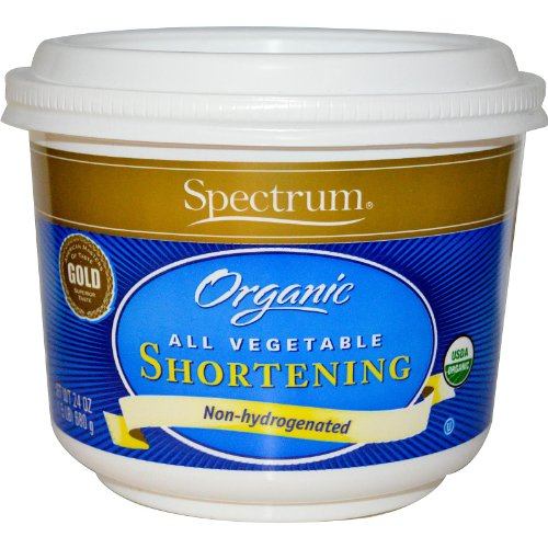 Spectrum Organic All Vegetable Shortening, 24 Ounce - 12 per case.