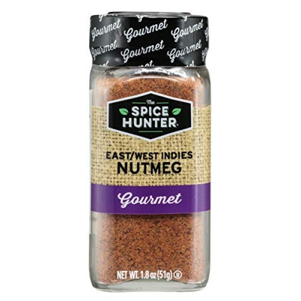 The Spice Hunter East/West Indies Nutmeg, Ground, 1.8 oz. jar