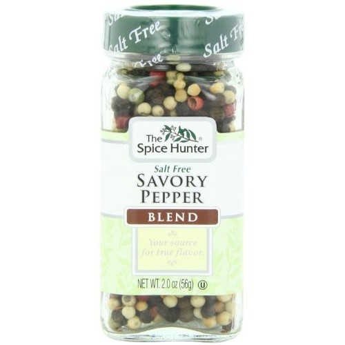 The Spice Hunter Peppercorns, Savory Blend, Whole, 2-Ounce Jar