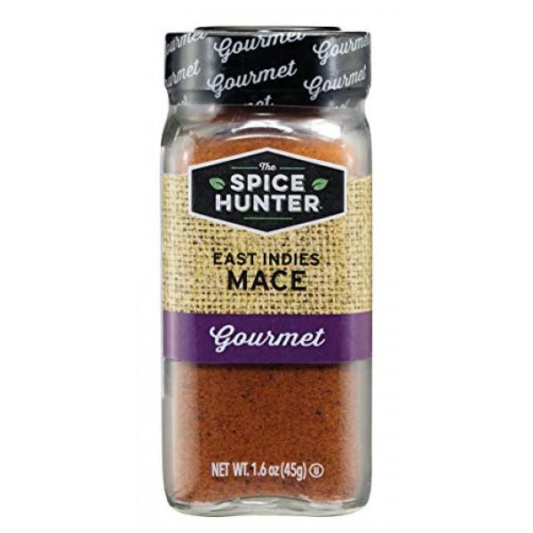 The Spice Hunter East Indies Mace, Ground, 1.6 oz. jar