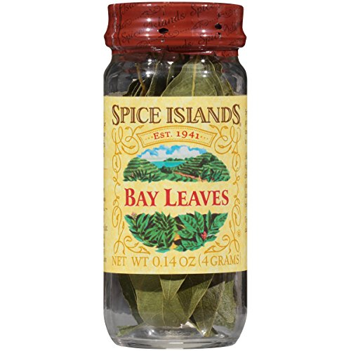 Spice Islands Bay Leaves, Hand Picked, 0.14-Ounce Glass Jars Pa...