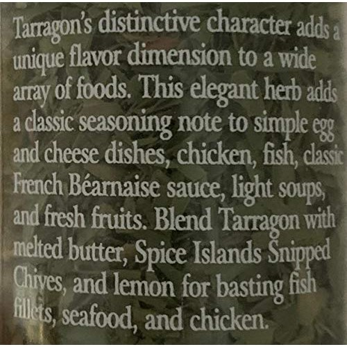 Spice Island Tarragon, 0.5 oz Pack of 2