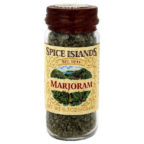Spice Islands Marjoram 0.3 oz Glass Jar