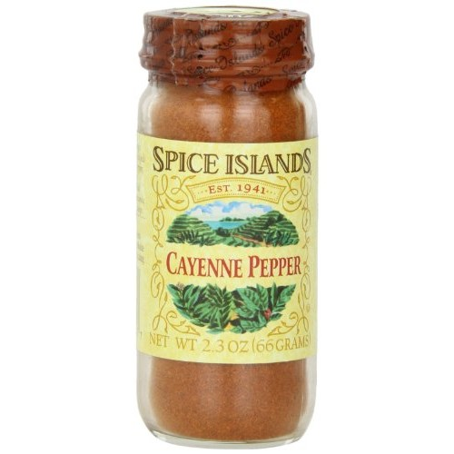 Spice Islands Pepper, Cayenne, 2.3-Ounce Pack of 3