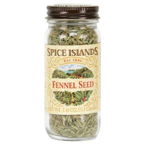 Spice Islands Fennel Seed, Whole, 1.8-Ounce Pack of 3