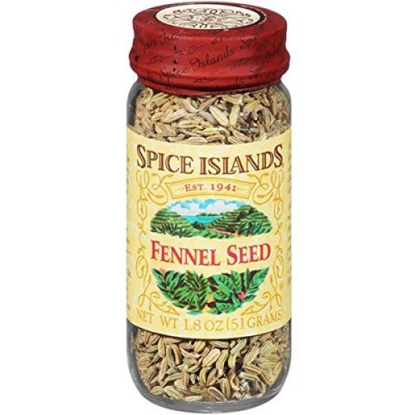 Spice Islands Fennel Seed 1.8oz Single