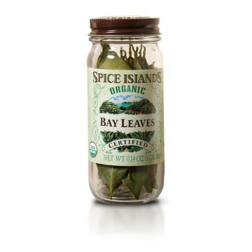 Spice Islands Organic Island Bay Leaf, 0.14oz Pack of 1