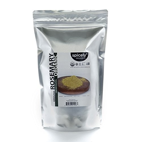 Spicely Organic Rosemary Ground 10 Oz Bag Certified Gluten Free